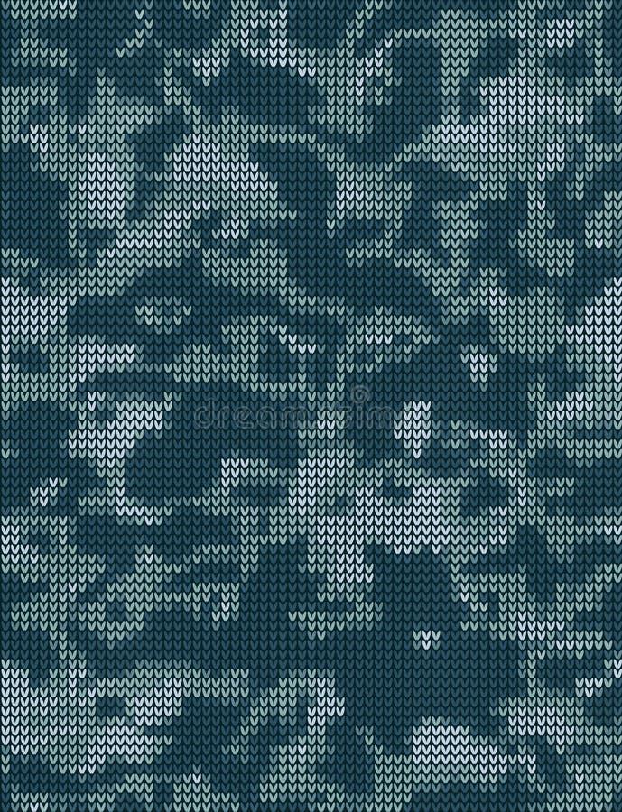 Modèle de tricotage illustration de vecteur