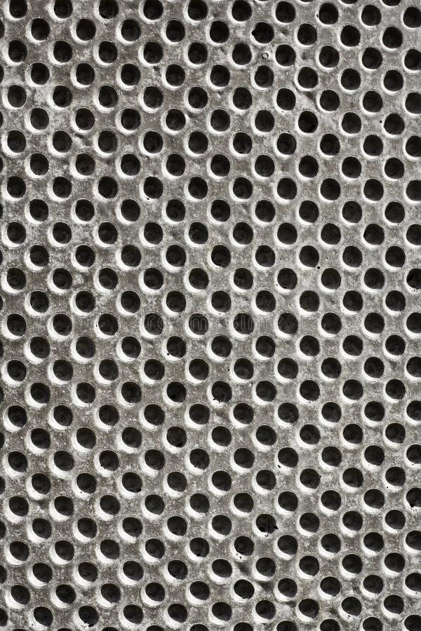 Modèle de trous de mur en béton image libre de droits