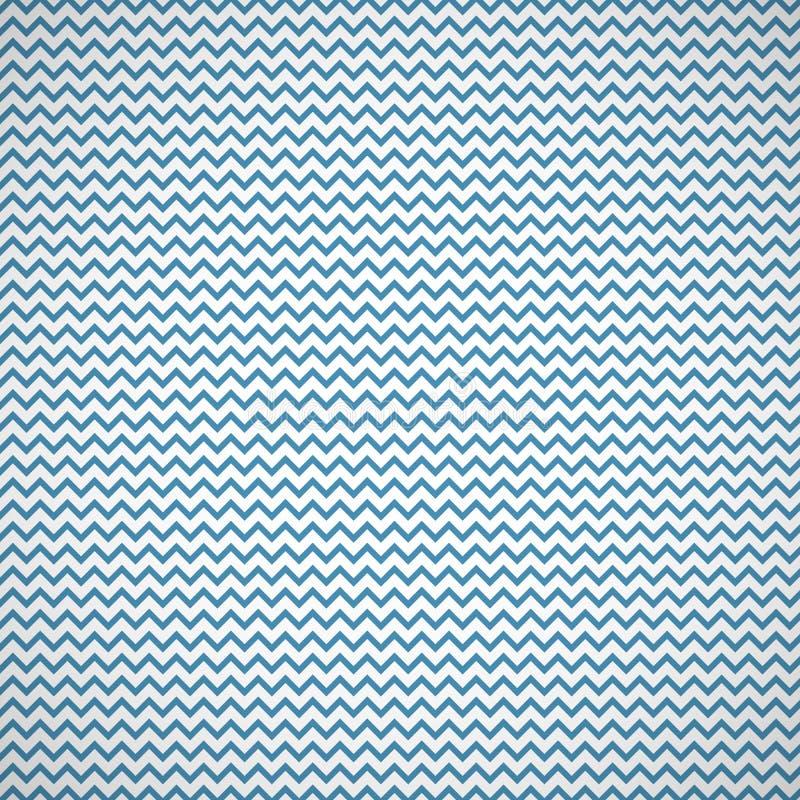 Modèle de vague sans couture de zigzag illustration libre de droits