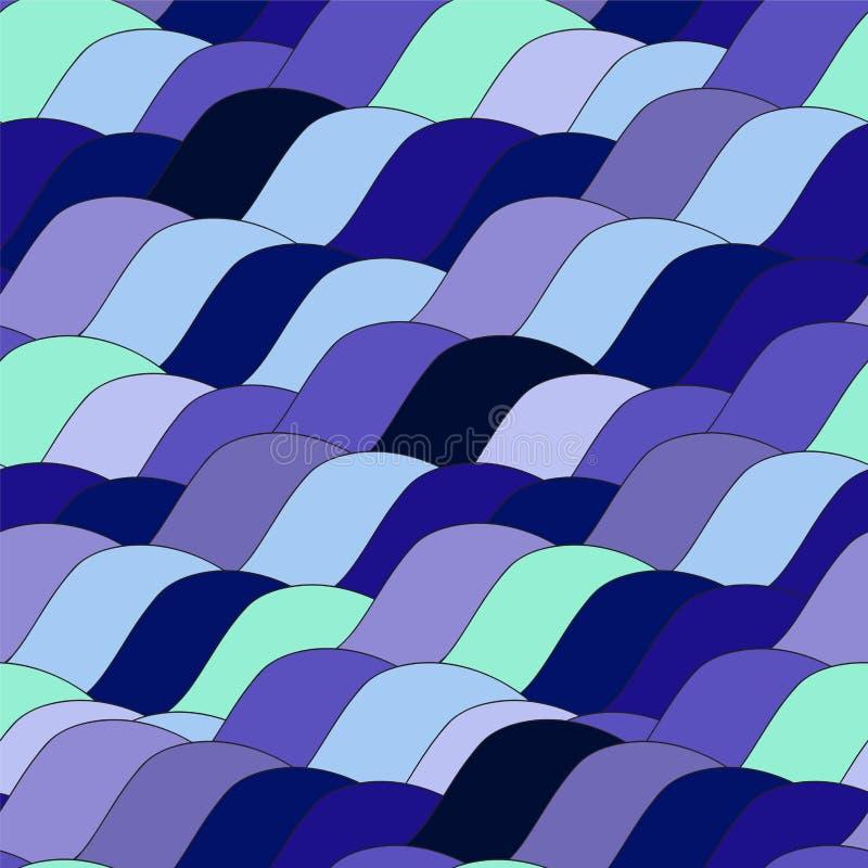 Download Modèle De Vague Sans Couture, Fond De Vagues Conception De Papier Peint Vecto Illustration de Vecteur - Illustration du papier, textile: 56488264