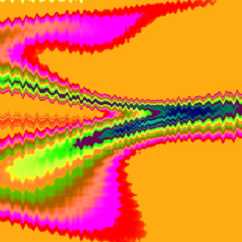 modèle de vagues de pixels illustration de vecteur