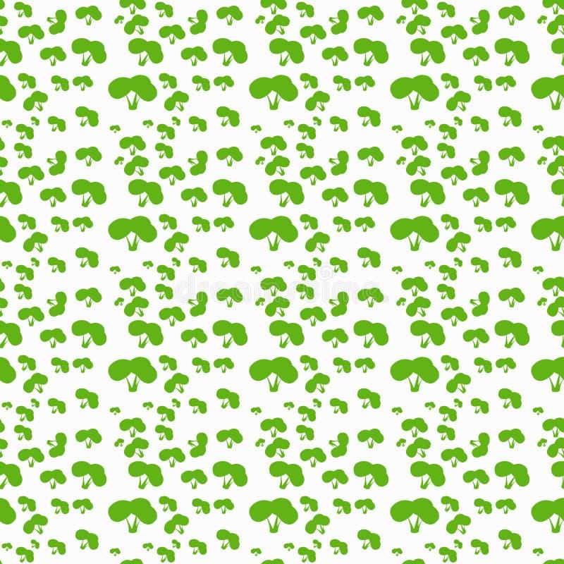 Modèle de vecteur des buissons Bague la forme simple photos stock