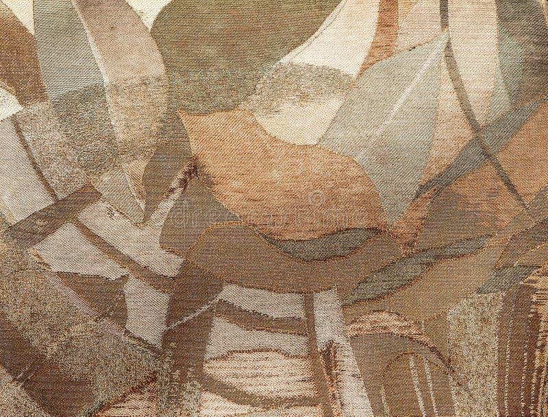 Modèle de vieille tapisserie florale images libres de droits