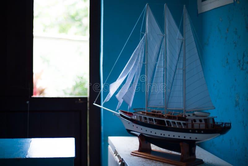 Modèle de voilier photos stock