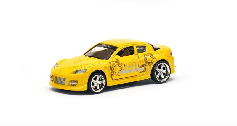 Modèle de voiture, Mazda RX-8 photos libres de droits