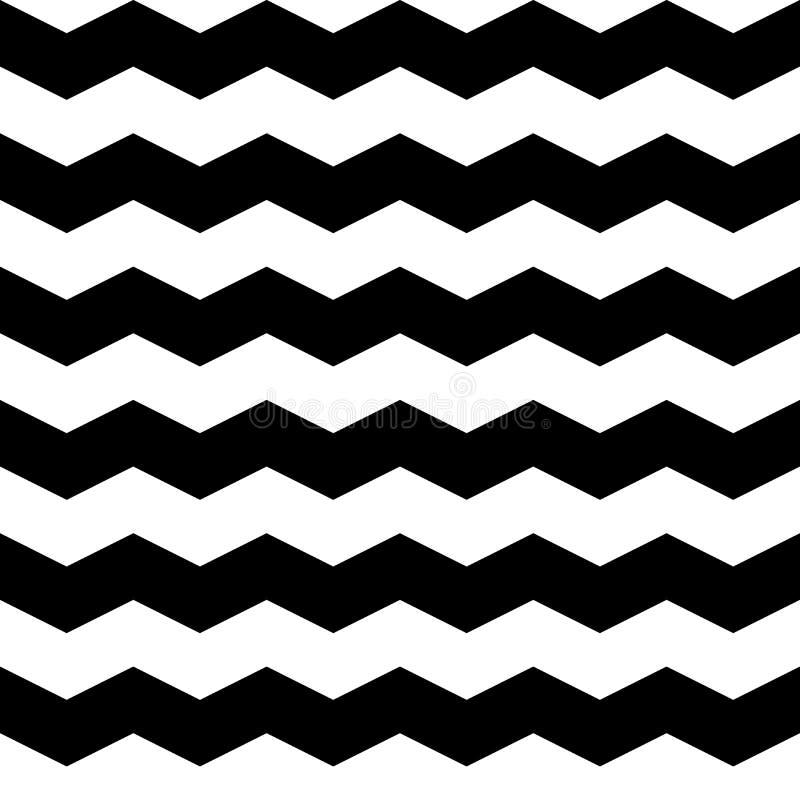 Modèle de zigzag - sans couture illustration libre de droits