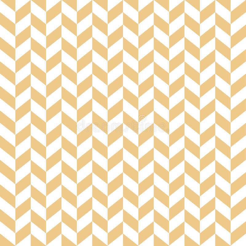 Modèle de zigzag sans couture abstrait moderne illustration de vecteur