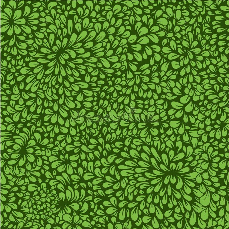 Modèle dense de végétation illustration libre de droits