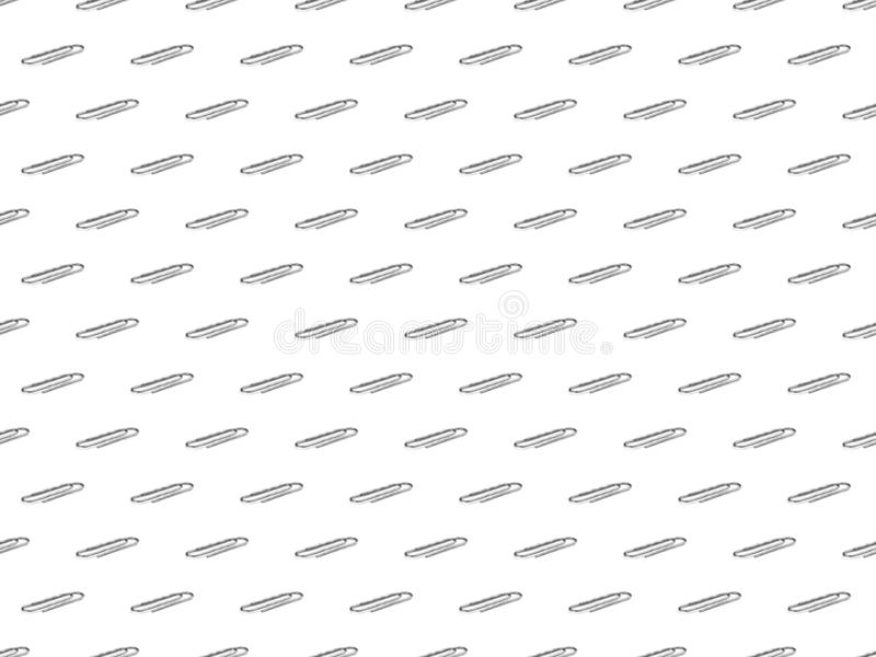 Modèle des agrafes en acier comme fond ou texture Stati de concept images stock