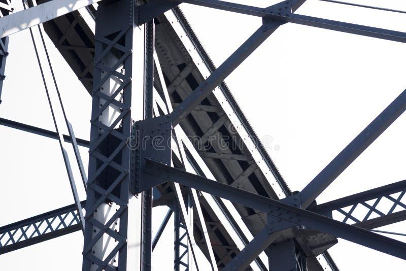 Modèle des haricots et des poutres de pont images libres de droits