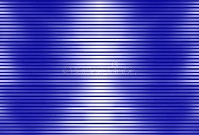 Modèle des rayures bleues sur le fond blanc - papier peint abstrait simple illustration libre de droits
