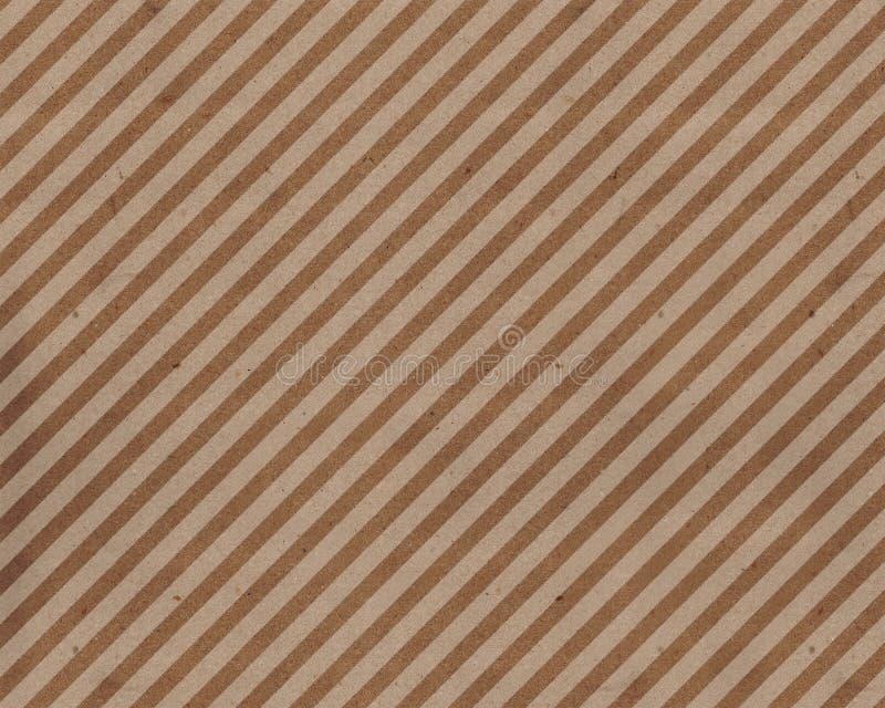 Modèle diagonal fin de courses sur le papier grunge image stock