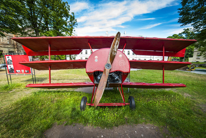 Modèle du Fokker DR1 photos stock