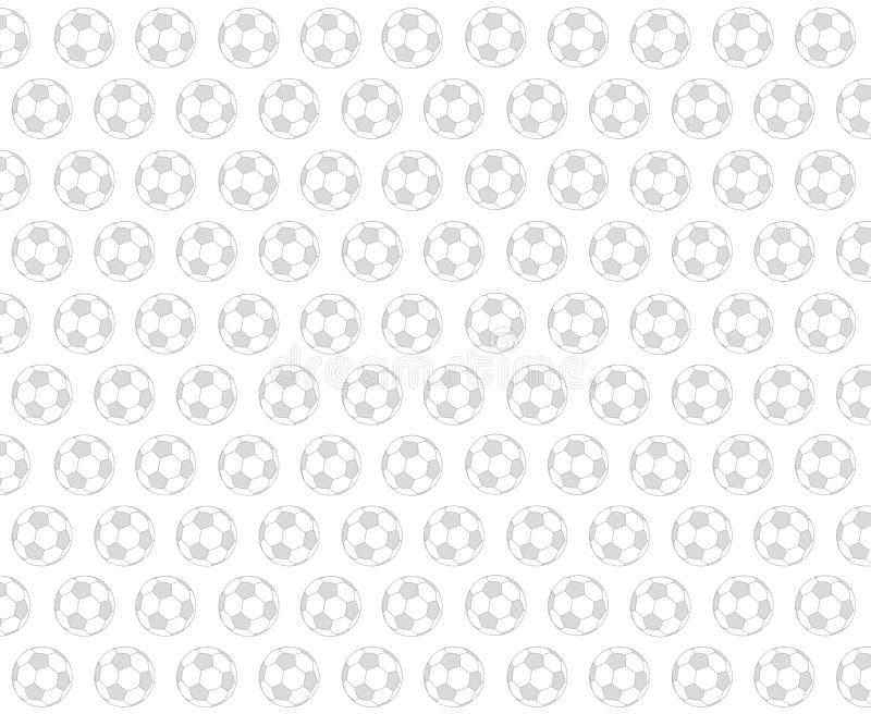 Modèle du football illustration libre de droits