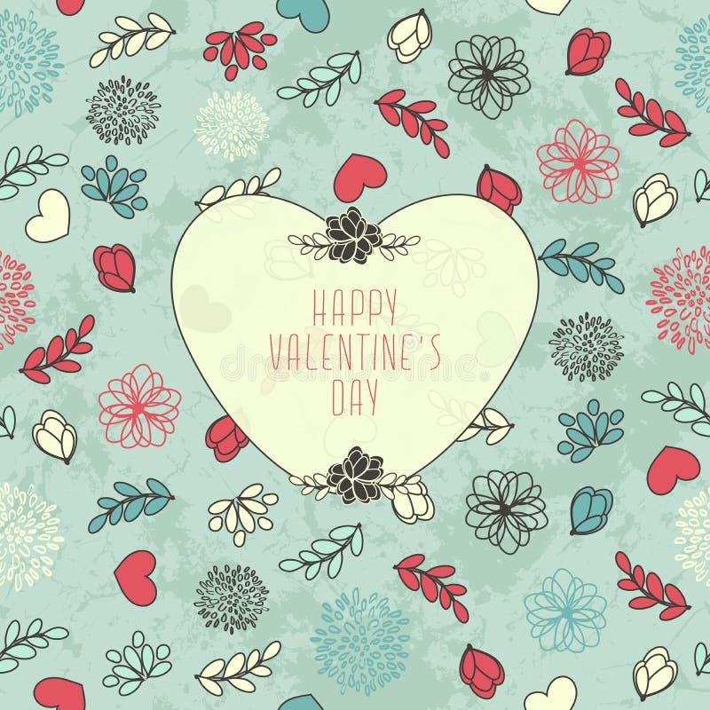 Modèle du ` s de Valentine illustration de vecteur