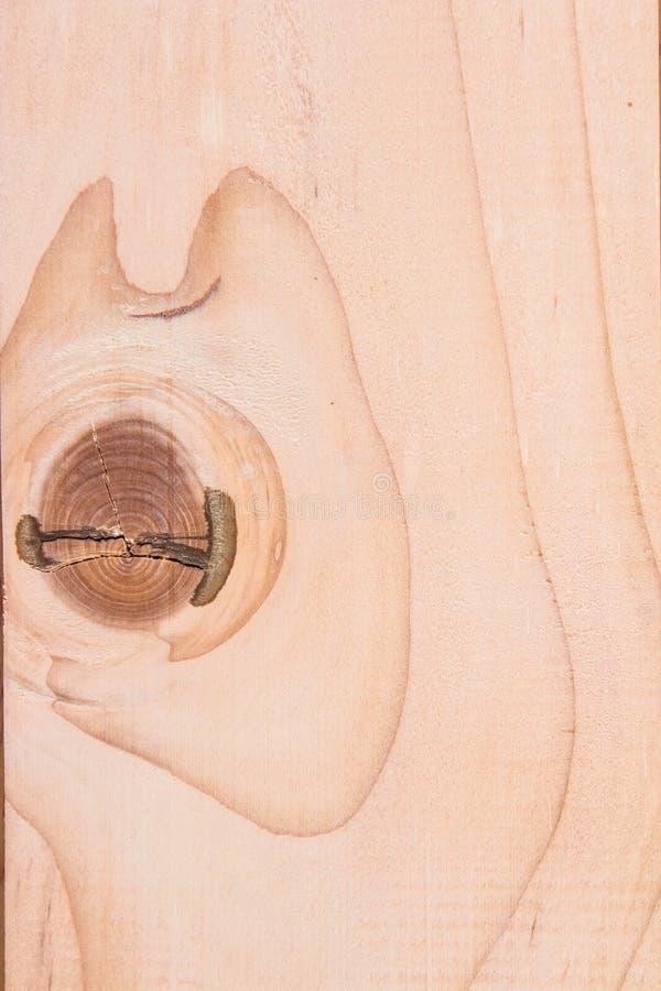 Modèle en bois de texture sur la couleur brune photographie stock