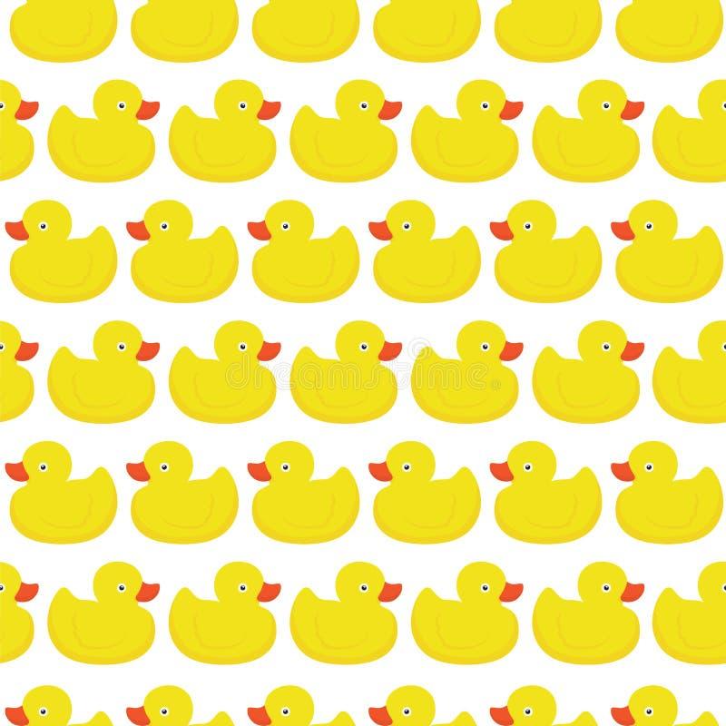 Modèle en caoutchouc de blanc de canard illustration libre de droits