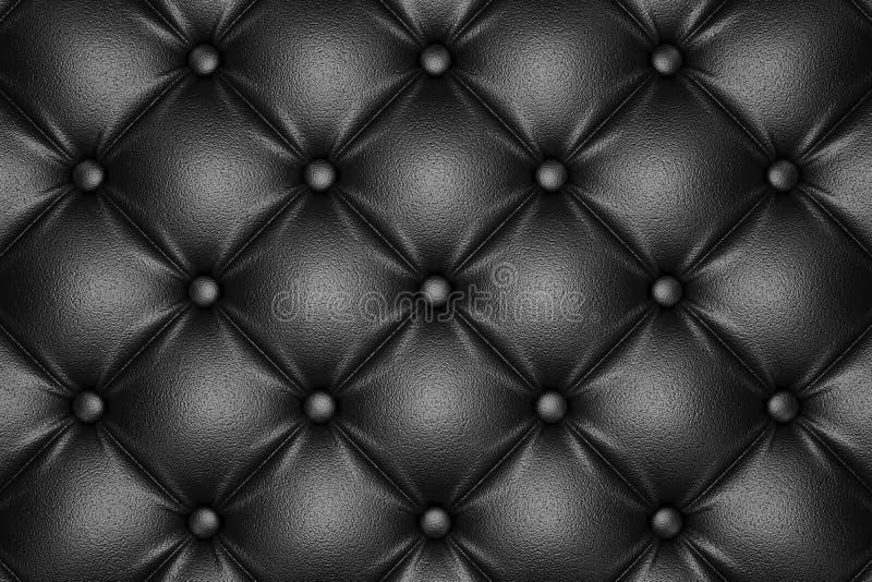 Modèle en cuir piqué par noir image libre de droits