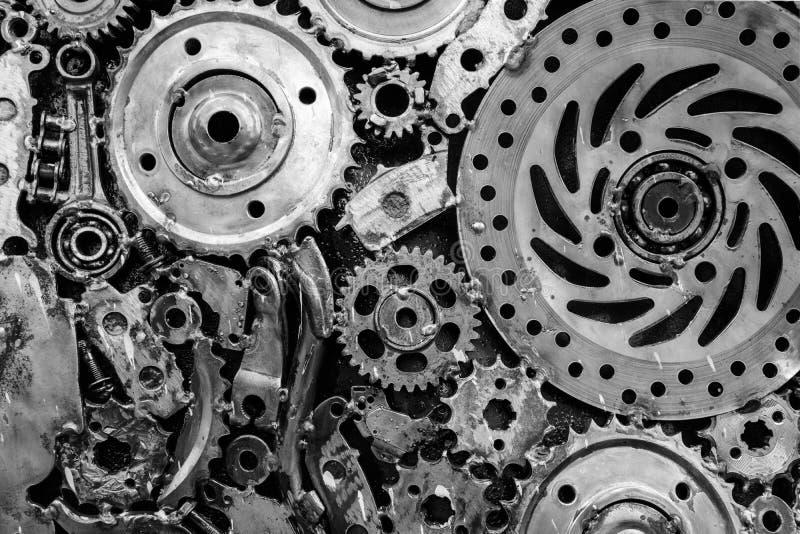 Modèle en métal de roue de vitesse photographie stock