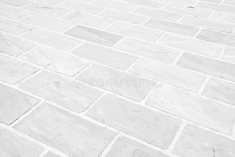 Modèle en pierre grunge blanc de plancher image stock