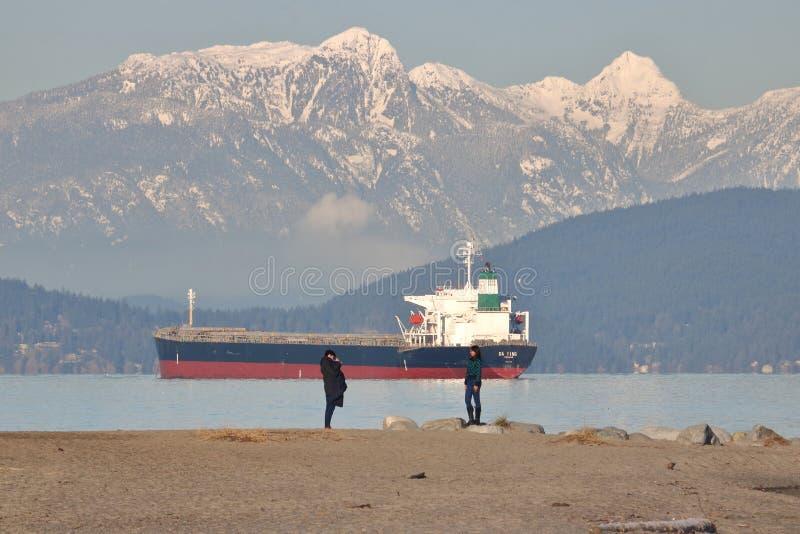 Modèle et photographe à Vancouver, Canada photos stock