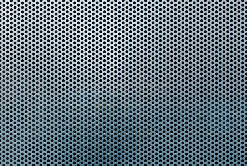 Modèle et texture d'abrégé sur grille en métal images libres de droits