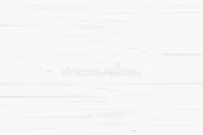 Modèle et texture en bois blancs pour le fond Vecteur illustration stock