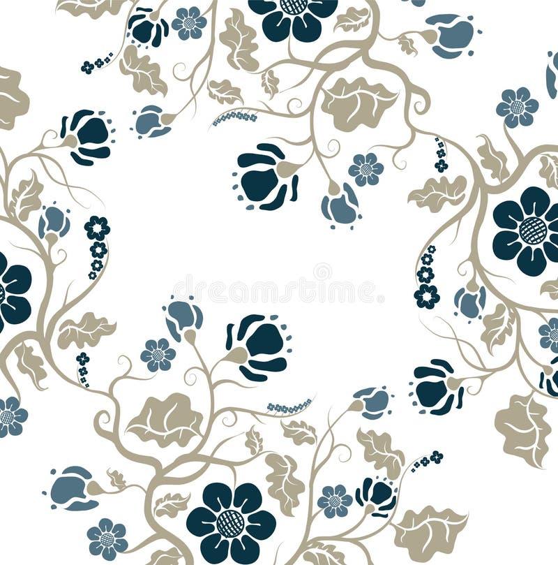 Modèle floral abstrait illustration libre de droits