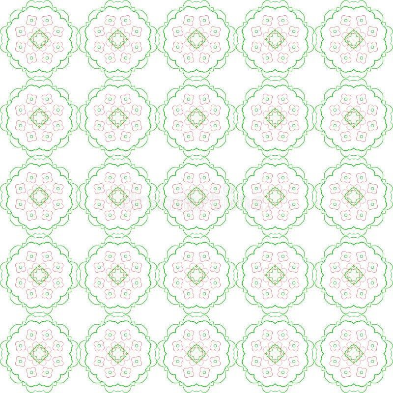 Download Modèle Floral Abstrait Coloré Illustration de Vecteur - Illustration du configuration, vieux: 56483526