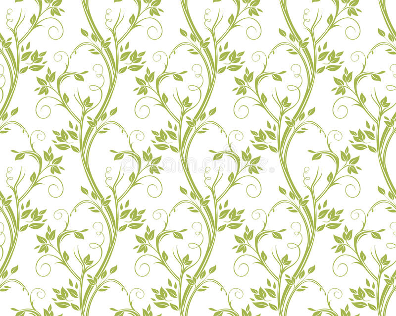 Download Modèle Floral Bouclé Sans Couture Illustration Stock - Illustration du isolement, doux: 87703680