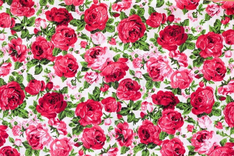 Modèle floral de textile de vintage image stock