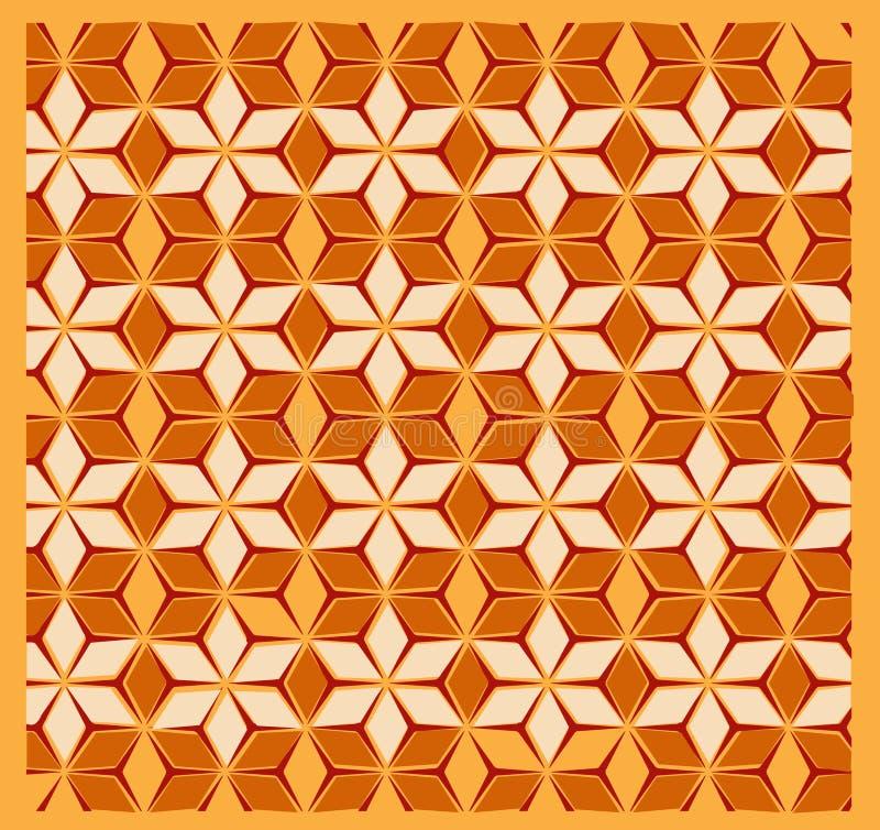 Modèle floral pour des matériaux de Saree, de robe, des draps, des kurtis, etc. illustration de vecteur