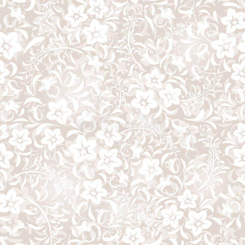 Modèle floral sans couture. illustration stock