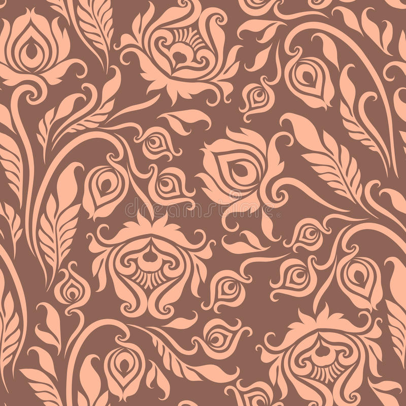 Modèle floral sans couture illustration libre de droits