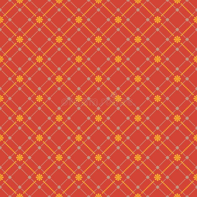 Modèle floral sans couture. Texture de fleurs. ENV 8 illustration stock