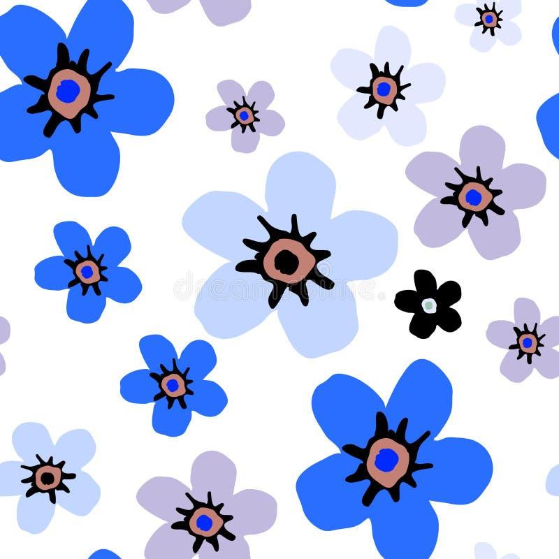 Modèle floral simple photos stock