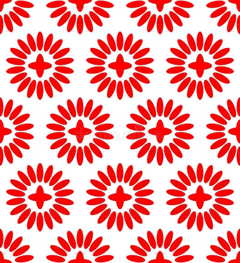 Modèle floral simple (qu'on peut répéter) illustration libre de droits