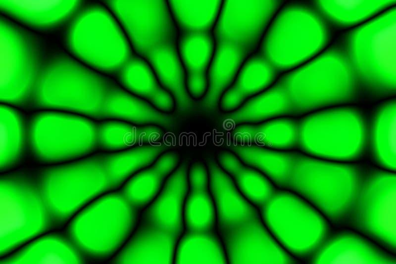 Modèle foncé de cercle radial multicolore photos stock