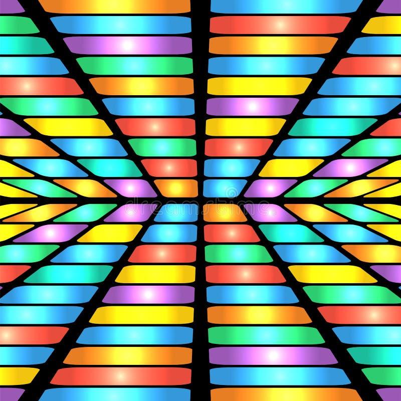 Modèle géométrique abstrait illustration stock
