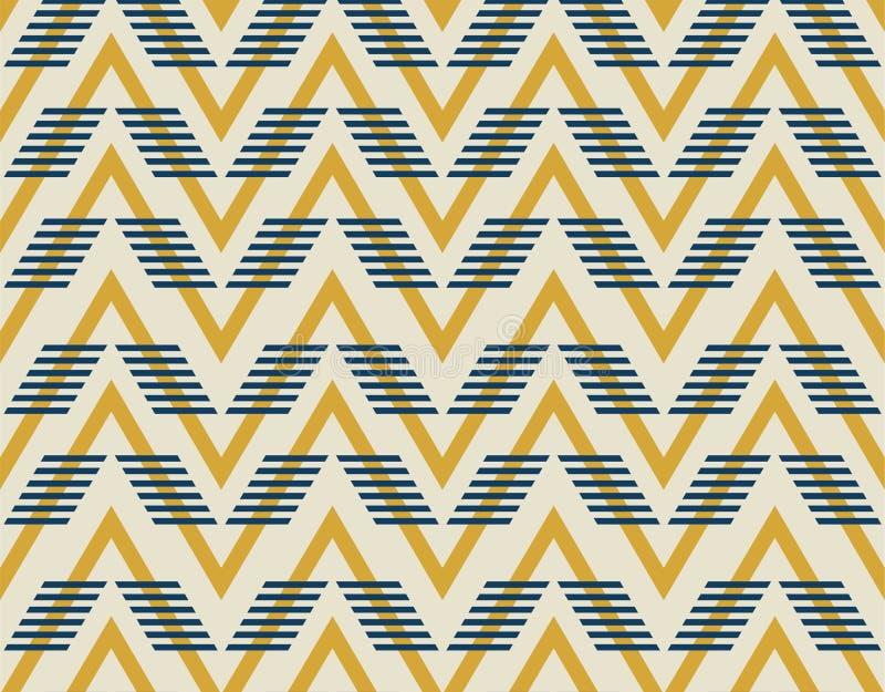 Modèle géométrique abstrait avec des lignes illustration de vecteur