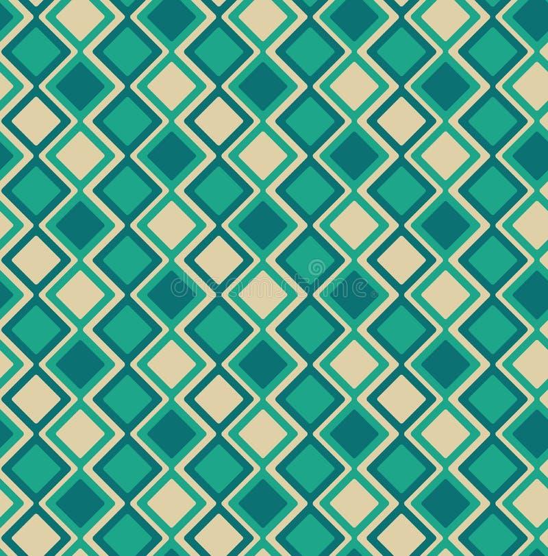 Modèle géométrique abstrait sans couture - eps8 illustration de vecteur