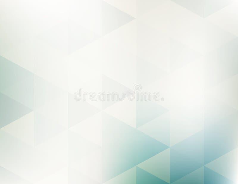 Modèle géométrique abstrait simple avec des triangles illustration de vecteur