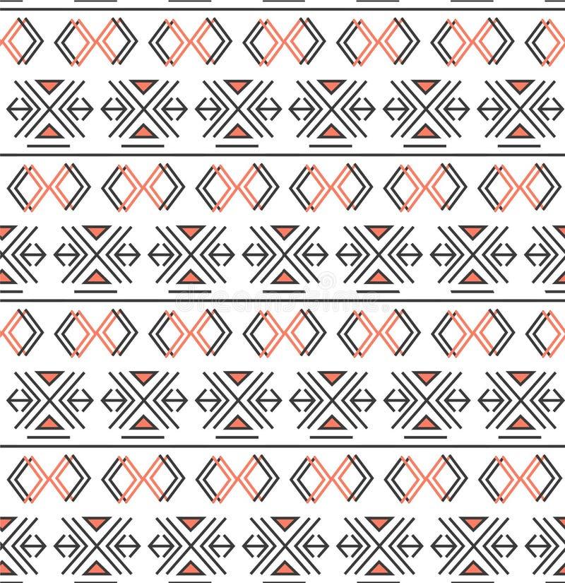 Modèle géométrique avec la triangle et les éléments linéaires illustration de vecteur
