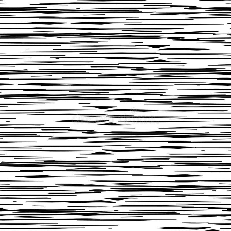 Modèle géométrique avec les rayures aléatoires Texture approximative chaotique illustration stock