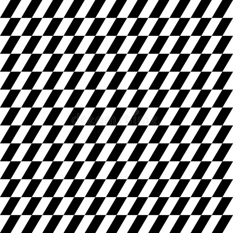 Modèle géométrique contrasty qu'on peut répéter Mosaïque des triangles avec illustration stock