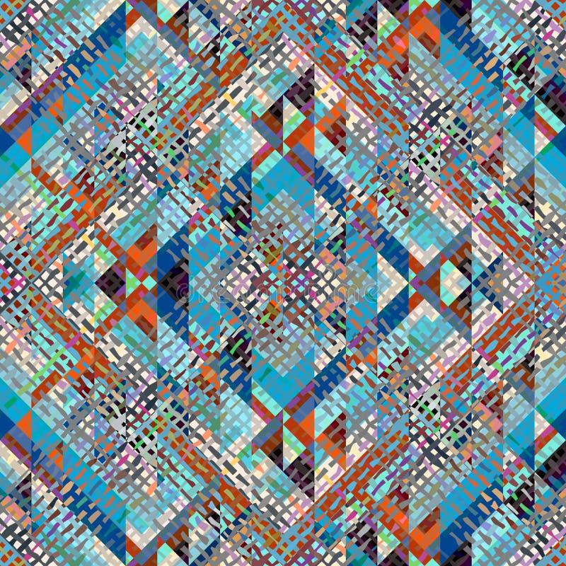 Modèle géométrique d'Aztèques illustration stock