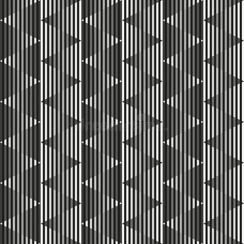 Modèle géométrique des triangles illustration libre de droits