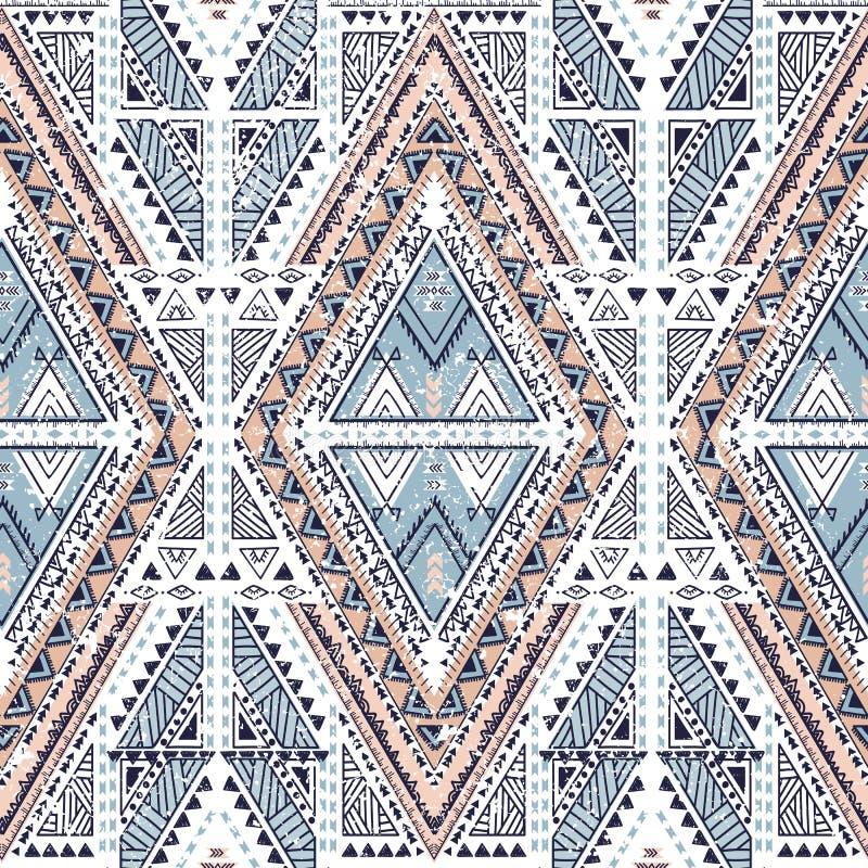 Modèle géométrique ethnique image stock