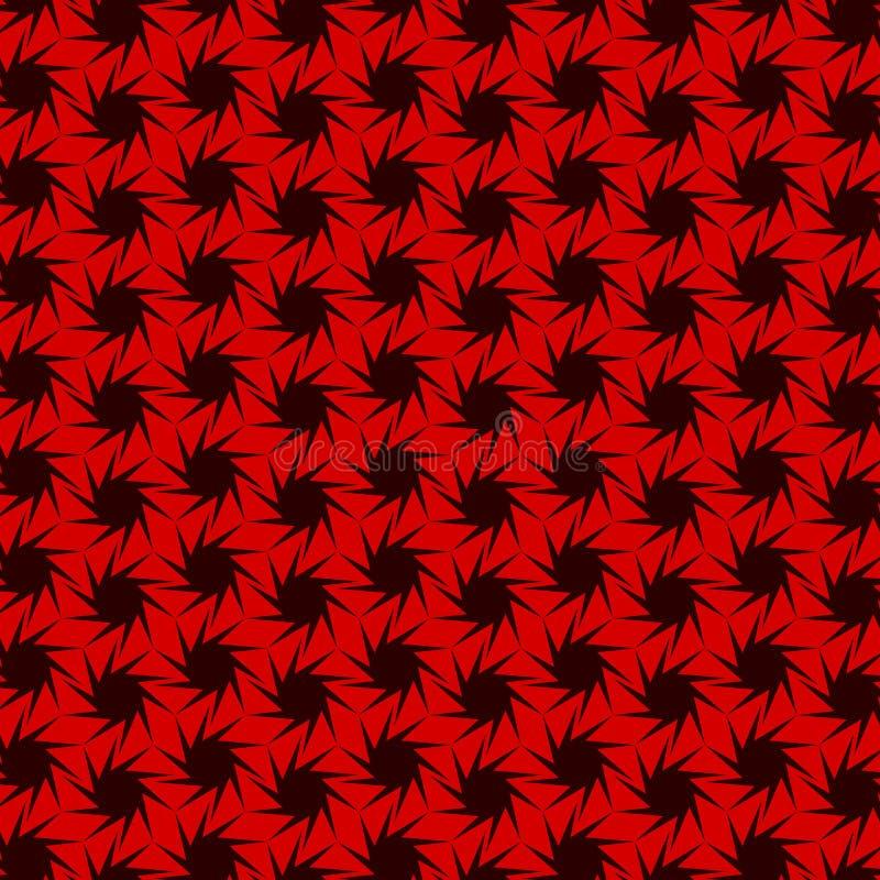 Modèle géométrique sans couture abstrait avec l'angle de dix étoiles photos libres de droits