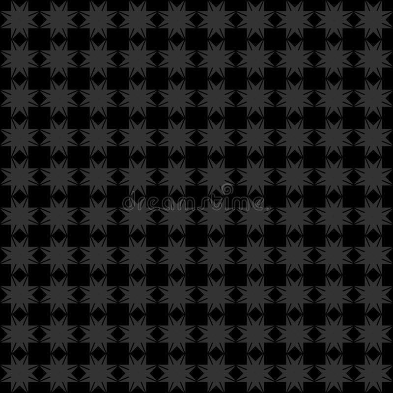 Modèle géométrique sans couture abstrait avec l'angle de huit étoiles photo libre de droits